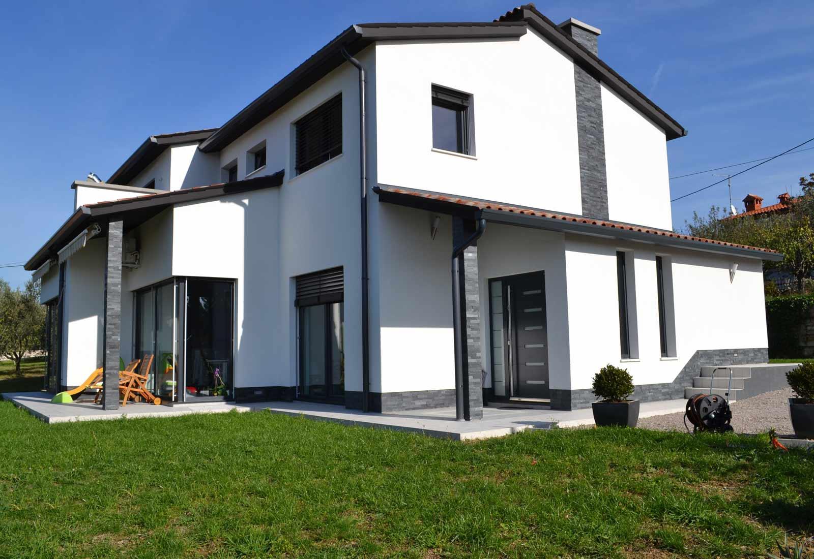 arhitektura enodružinske hiše