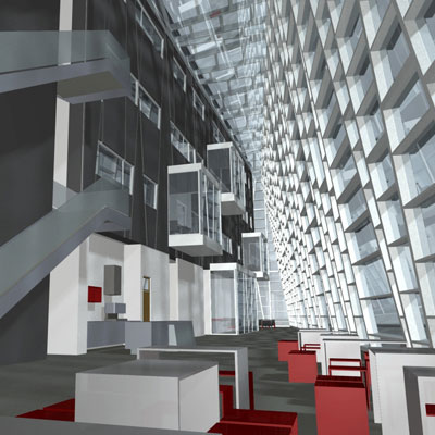 Natečaji za projektiranje javnih stavb in površin.