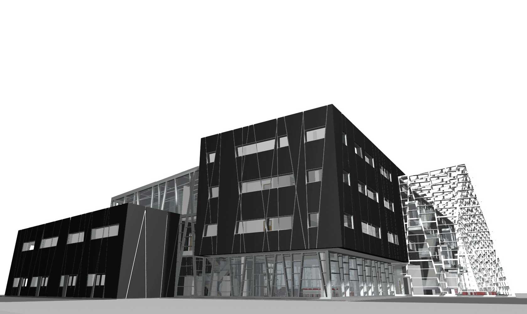 oblikovanje javne stavbe